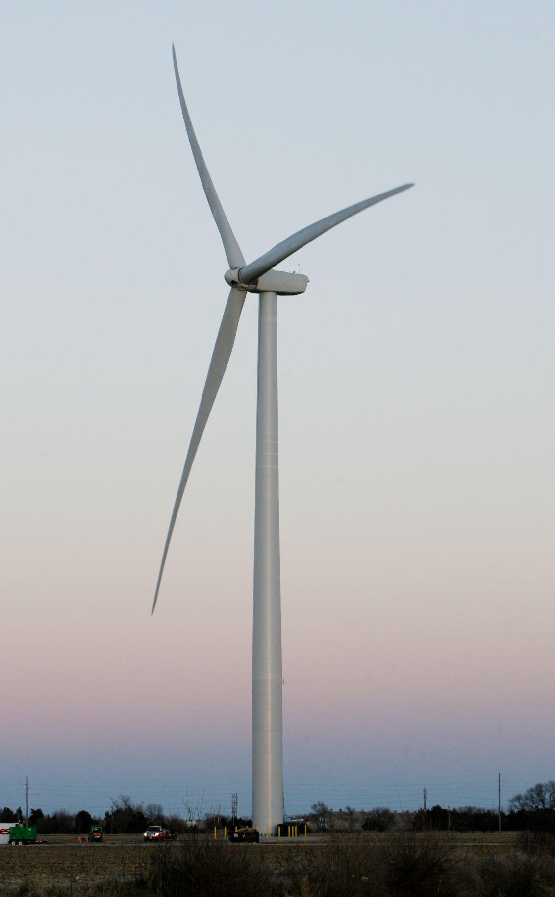 Ccc Wind Turbine Source Of Energy Education News