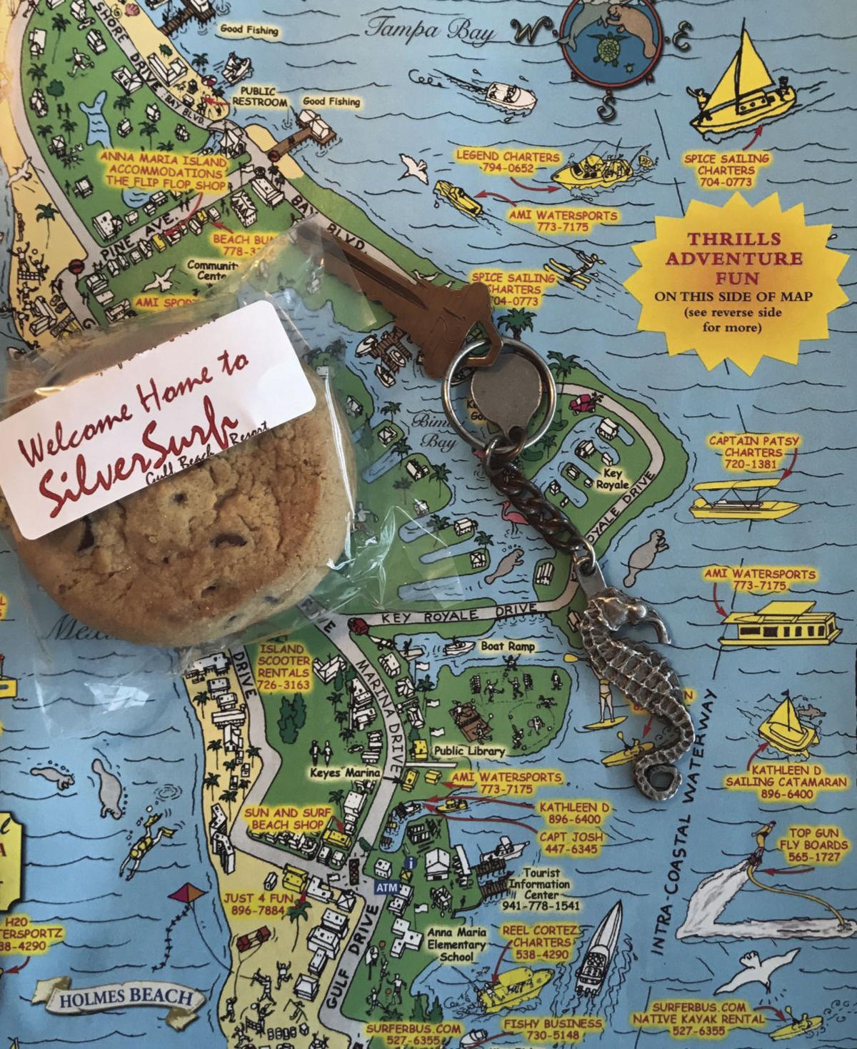 Ana Maria Island Map