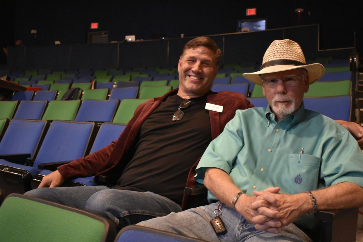 Dan and Norm sitting.JPG