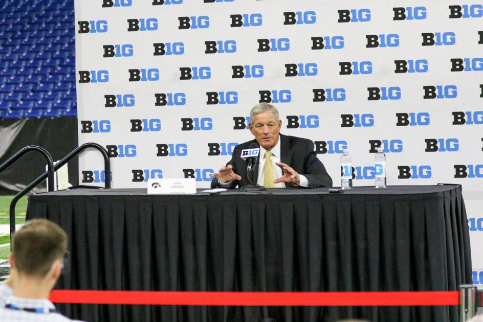 B1G Media Day Notebook 7-23: Iowa Football About 70% Vaccinated