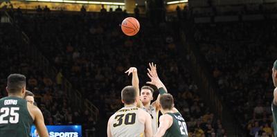 Jordan Bohannon Michigan State 3