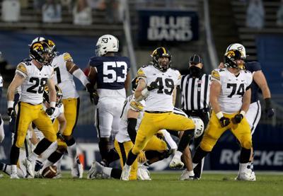 Iowa Dominates Penn State