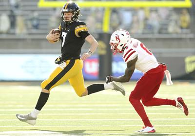 Iowa Football vs Nebraska - Spencer Petras