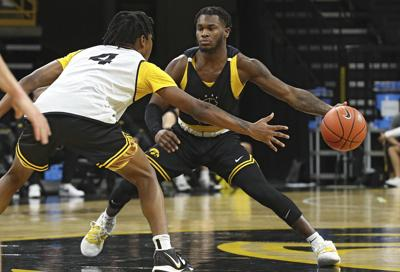 Iowa Men's Basketball Scrimmage