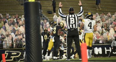 FB, Football, Iowa at Purdue, 10/24/2020