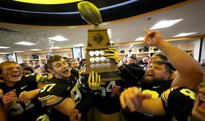 Iowa v Nebraska Football - Heroes Trophy