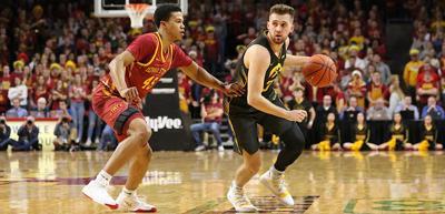 Jordan Bohannon Iowa State Dribble Bolton
