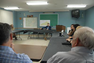 Paul holds Community and Local Leaders Roundtable in Hazard