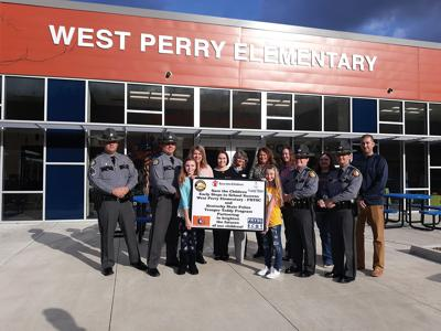 West Perry contributes to Trooper Teddy