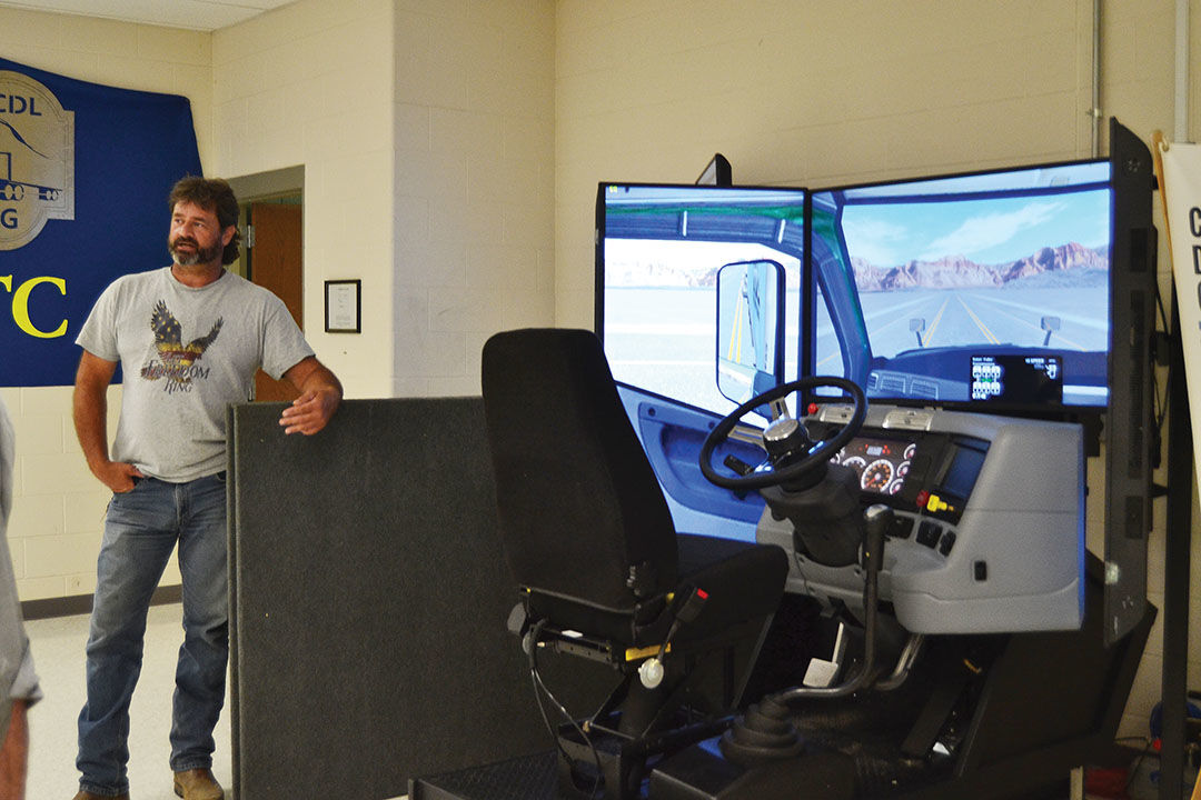 HCTC expands CDL training with simulator