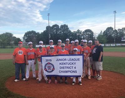 Hazard/Perry Junior League  competes in Central  Region Tournament