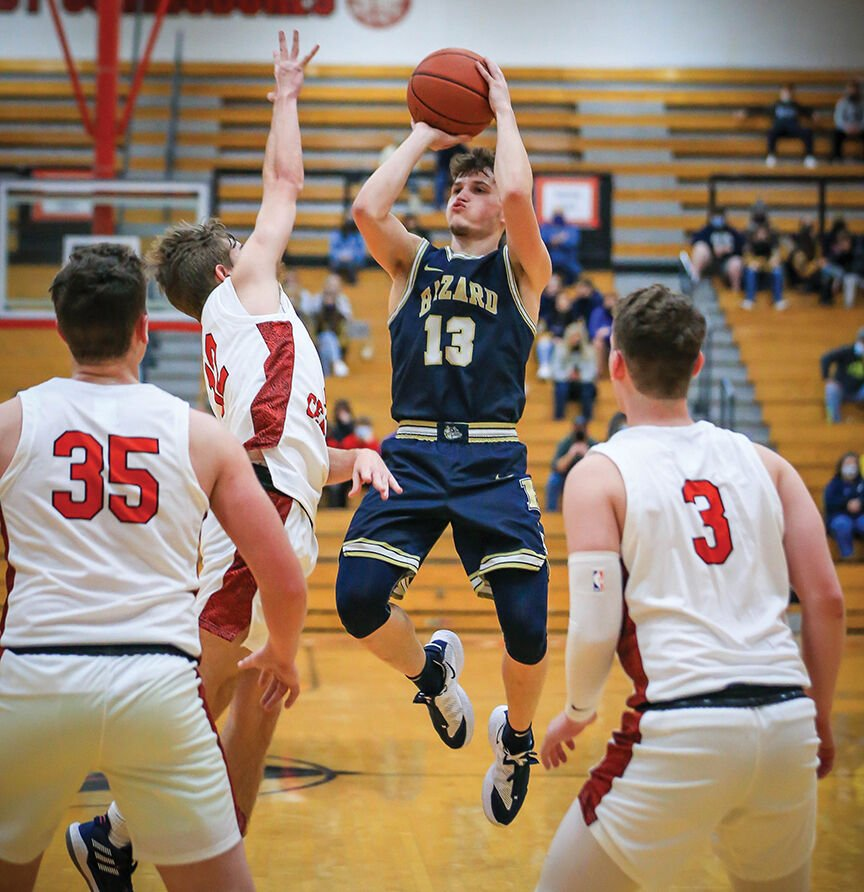 Hazard holds off Perry Central, 58-48