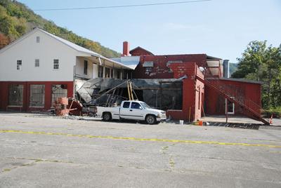 Building collapse displaces families