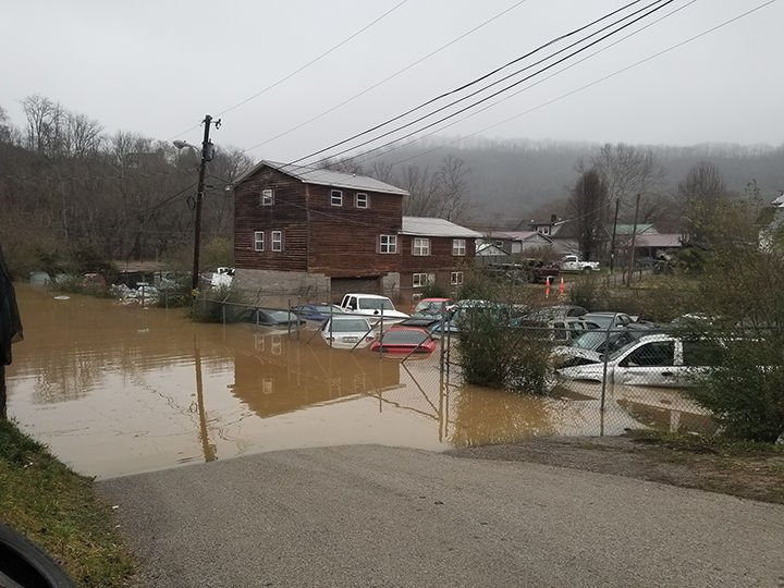 Perry County experiences flooding, mudslides