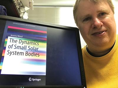 HCTC's Wood publishes astronomy book