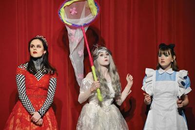 PCCHS's 'Alice in  Wonderland' opening