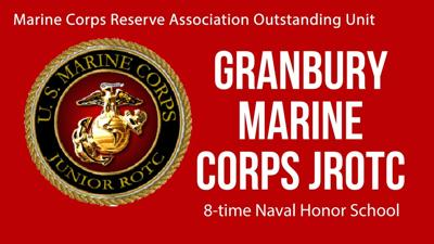 Granbury MJROTC earns first-ever Outstanding Unit award