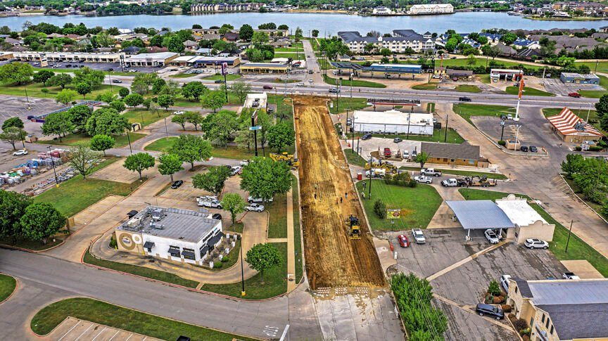 Water's Edge Drive Reconstruction