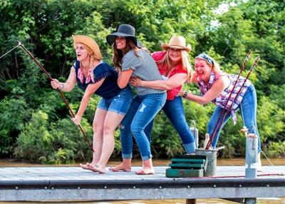 HOLD ON TIGHT! Granbury's Brazos Bettys fishing team