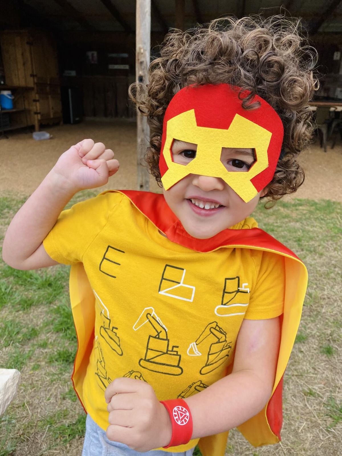 Superhero Ollie