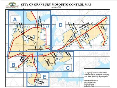 MOSQUITO CONTROL MAP