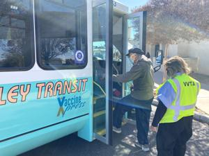 VVTA Provides Vaccination Shuttle Service to Qualifying Locals