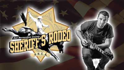 PHOTO: Sheriff's Rodeo, Chayce Beckham