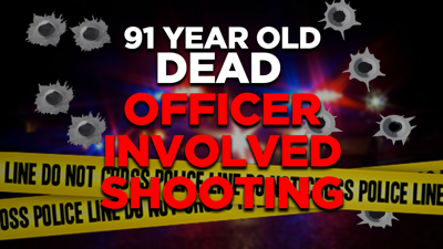 91 Year Old Dead - Officer Involved Shooting