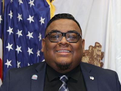 PHOTO; Gabriel Reyes - Mayor of Adelanto