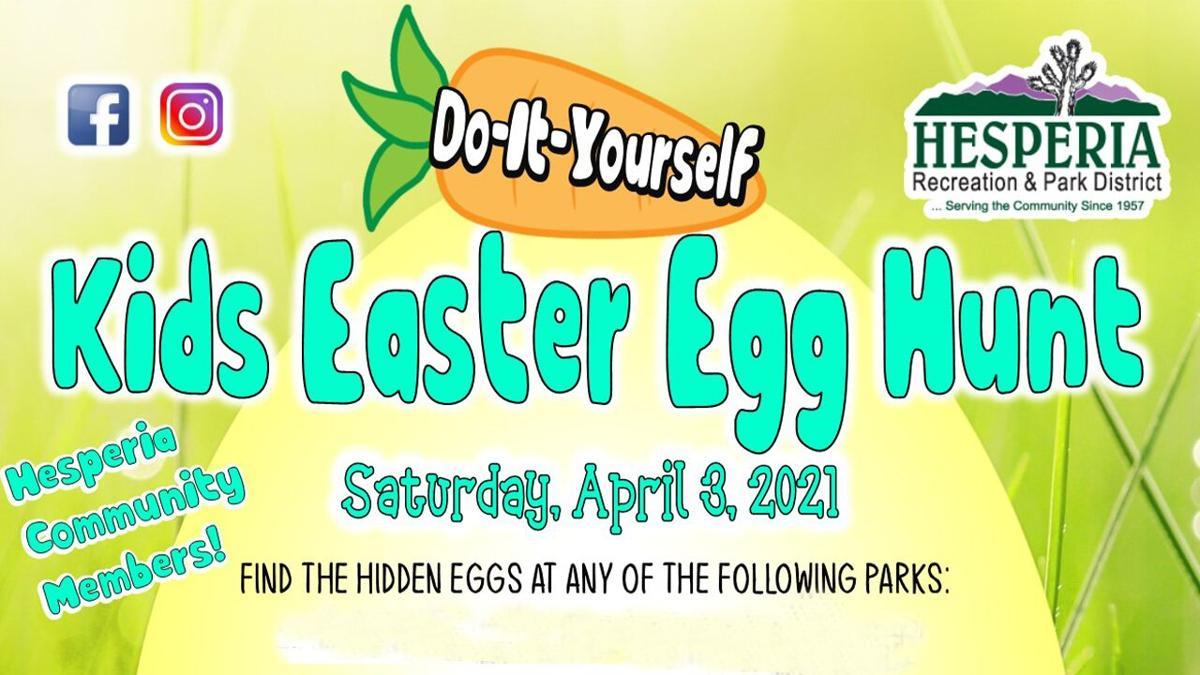 GRAPHIC: Easter egg hunt - Hesperia Parks