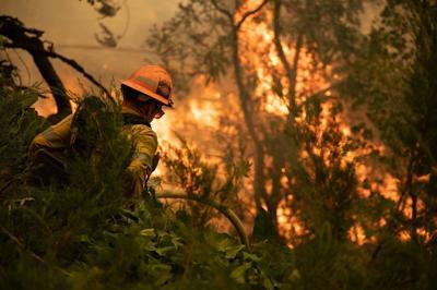 PHOTO: Facebook picture from SBC Fire, El Dorado Fire, September 2020