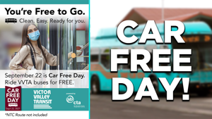 Local transportation company to observe Car Free Day