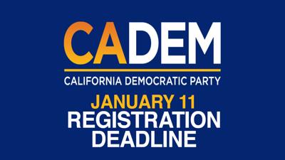 CA Dem - Logo