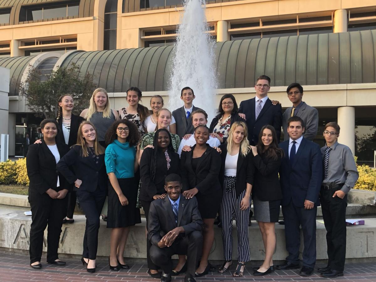 Barstow Youth Reps California in Youth Senate Program