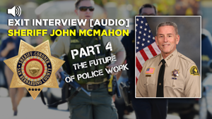 McMahon closes with the future for cops