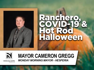 PHOTO: Monday Morning Mayor, October 2021, Hesperia