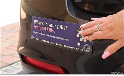 PHOTO: Riverside County DA, bumper sticker