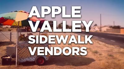 sidewalk vendors - apple valley