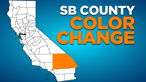 County shifts to Orange Tier