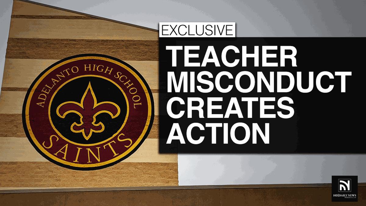 Teacher Misconduct Creates Action