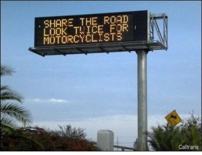 PHOTO: Cal Trans sign