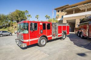 San Manuel Donates Fire Truck to Victor Valley College
