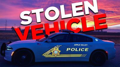 Stolen Vehicle - Apple Valley