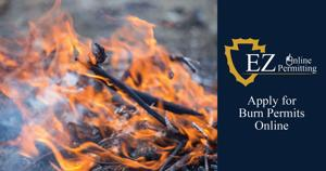 Online Open Burn Permit for SB County Residents