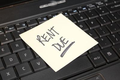 PHOTO: Rent due