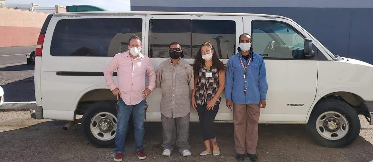 PHOTO: Victor Valley Warming Shelter - stolen van