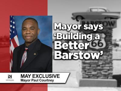 PHOTO: Mayor Paul Courtney