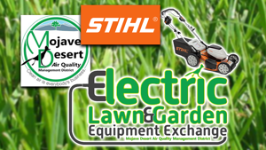 Lawn equipment exchange for local residents