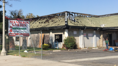 Another fire strikes one-time 'restaurant row'