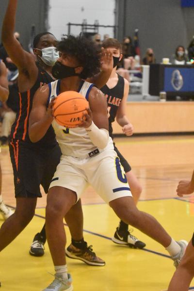Vance Charter men's basketball